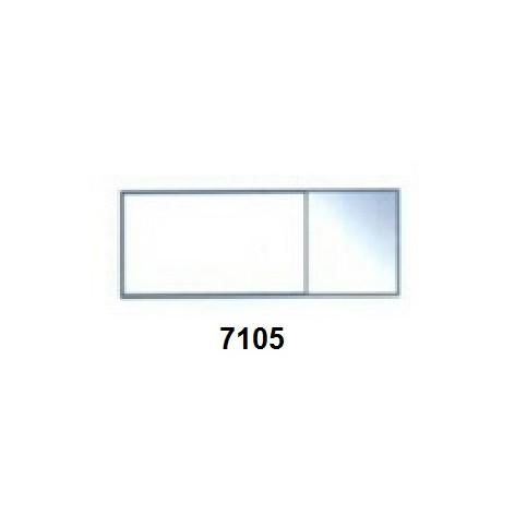Podložní skla Model 7105 - mytá