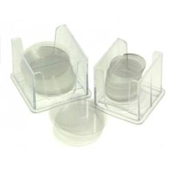 Krycí skla kruhová ø 16 mm (100 ks)