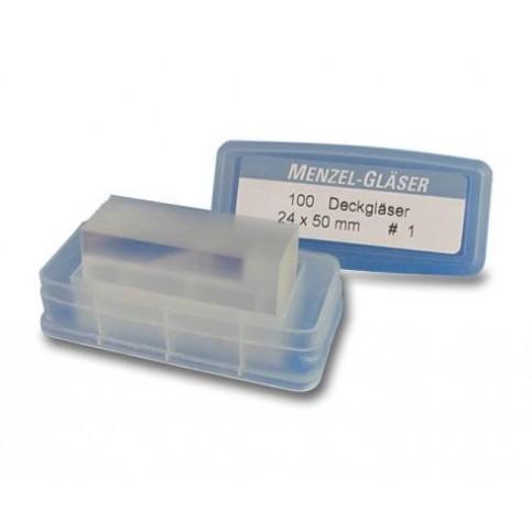 Krycí skla (24x50 mm) - mytá