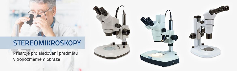 Stereomikroskopy