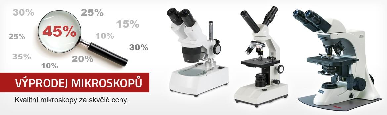 Výprodej mikroskopů